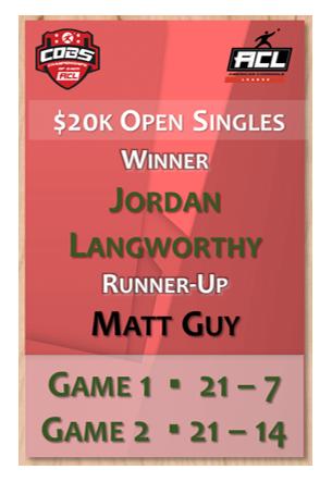 Open Singles