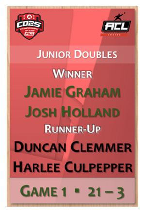 Junior Doubles