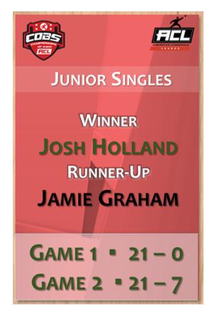 Junior Singles