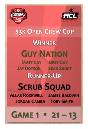 Open Crew Cup